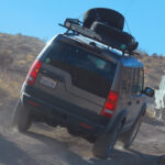 Death Valley Tours, Black Rhino Expeditions, Land Rover LR3 on the way to Chloride City